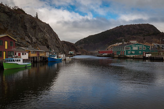 Quidi Vidi, Newfoundland, Canada.