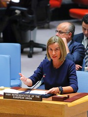Federica Mogherini at the United Nations in New York, May 2017 (European External Action Service - EEAS) Tags: newyork unitedstates usa mogherini europeanunion eu eeas unitednations un unsc guterres