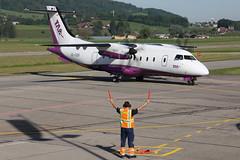 Dornier 328-100 OE-GBB Welcome Air (mm-photoart) Tags: dornier 328100 oegbb welcome air tyrol ambulance taa lszb brn bern belp belpmoos airport