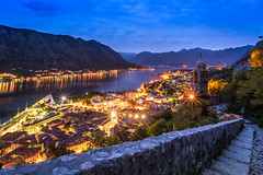 Lights of Kotor Bay (_gate_) Tags: montenegro kotor night sunset balkans gulf котор crna gora landscape sky view church the our lady rocks nikon d750 handheld hand held colorful beautiful summer spring may april mai 2017 sun set down sonnenuntergang adriatic sea meer adria euro trip europe travel wide light pink blue himmel cloud clouds wolken landschaft blendenstern stern star 20mm afs 18g ed nightscape cityscape urban