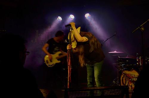 @pinoscotto 🎸  #rock 🎥#elettritv  #musica #live 🙌 #concerti #sottosuolo #heavymetal #dalvivo #datevifuoco #music 🔊 #underground  #hardrock #vanadium #metal #rome #nemici 😈 #jailbreak #roma #italia #tiber