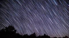 Night Trail (h.padilla89) Tags: night nightsky stars shootingstar sonyalpha sony startrail