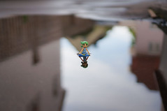 Swimming in the puddle (omgdolls) Tags: yotsuba よつば