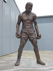 Muhammad Ali Sculpture (Toco67) Tags: sculpture publicart muhammadali boxing boxer liverpool merseyside