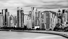 B&W PTY (Long Exposure) ND 10 Filter (Bernai Velarde-Light Seeker) Tags: apartments bw buidligns centralamerica cityscape construction longexposure panama puntapacifica urban city travel exposicionlarga centroamerica bernai velarde edificios apartamentos mar oceano pacifico corredorsur rascacielos skycrapers byn