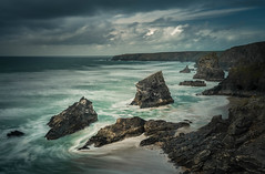Approaching (Explored) (Photo Lab by Ross Farnham) Tags: cornwall coast rocks tide ocean drama sony a7rii lee filters long exposure ross farnham