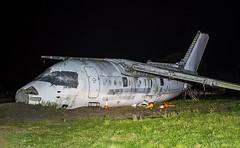 G-JEAT Flybe British Aerospace BAe146-100 @ Exeter Airport, Devon. (Sw Aviation) Tags: gjeat flybe british aerospace bae146100 exeter airport devon