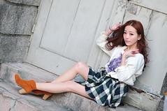 Lili1021 (Mike (JPG直出~ 這就是我的忍道XD)) Tags: lili 台灣大學 d300 model beauty 外拍 portrait 2014