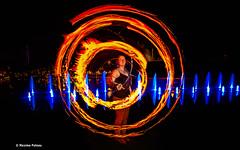 Hypnotizing you (Photos + Fb : photographe.maximepateau) Tags: firepainting lightpainting johanne jonglage jongleur jongleuse juggler juggling feu fire fuego nantes castle château des ducs de bretagne photography photographie taming tame master mastering dompte dompter hypnotizing you maxime pateau cercle circle