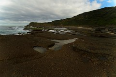 Rock Textures at Frazer Park (Paul Hollins) Tags: catherinehillbay newsouthwales australia frazerpark seascape nikond750 nikon1635mmf4 ocean waves rocks outdoor