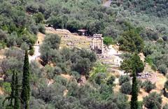 The Tholos (Mudlark2011) Tags: delphi greece ancientruins oracle trafalgartours