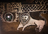 Lion on a painted house, Kembata, Alaba Kuito, Ethiopia (Eric Lafforgue) Tags: abyssinia africa alaba animal architecture art artistic building color culture day decor decorated decoration depiction design drawing eastafrica ethiopia geometric halaba home horizontal hornofafrica house housing hut illustration kulito lion mirror mural nopeople nobody outdoors painted painting poverty ruralscene toukoul traditional tukul village ethio163506 alabakuito kembata