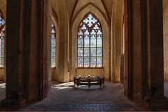Klosterkirche - Seitenfenster (Reiner Grasses) Tags: kloster eberbach klosterkirche hessen rheingau eltville film der rose sean connery name