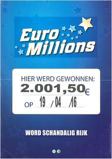 Euro Millions - €2.001,50