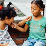 Girls Sharing Lollipops, Fonseca Colombia thumbnail
