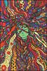 Kali dreams (d.em_ver) Tags: girl kali dream hair hippie mystic spiritual surreal fairytale religion cartoon doodle zentangle zendoodle goddess indian india illustration graphicart drawing