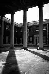 Osterley Park & House (lsullivanart) Tags: monochrome bw monotone monochromatic blackandwhite surrey southeast homecounties southern europe uk unitedkingdom britain england national british architecture buildings historic history scenery scenic spring winter sun sunlight sidelight bloom starburst sidelit sunrise sunset sky goldenhour clouds weather moody dramatic atmospheric cloudy overcast outdoor fuji fujifilm fujix fujix70 fujinon