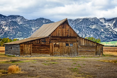 T. A. Moulton Barn (DL Photo) Tags: mormonrow landscape grandtetonnp architectual wyoming