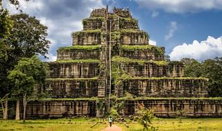 Pyramids in Cambodia