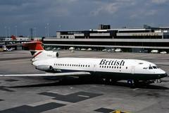 British Airways Trident G-ARPL (EX/ZX) Tags: msn 2112 hs121 trident 1c garpl british airways manchester