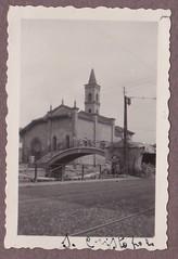 Chiesa di San Cristoforo nel 1927 Circa (Milàn l'era inscì) Tags: urbanfile milanl'erainscì milano milan oldpicture milanosparita vecchiefoto san cristoforo
