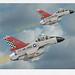 Cold War Interceptors (blackheartart) Tags: gernealdynamics f16 falcon fightingfalcon usaf airplane aviation aircraft caricature art