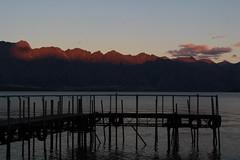 Sunset Sunshine Bay (PhilippTea) Tags: queenstown sunshine bay lake wakatipu sunset alpenglühen alpenglow jetty the remarkables cecil peak waler new zealand sout island