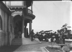 Entrance, opening of the Taronga Zoological Park (State Library of New South Wales collection) Tags: statelibraryofnewsouthwales sydney harbour views zoos taronga architecture buildings
