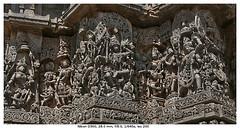 Closer, Intricate (vatsaraj) Tags: halebidu halebeedu temple architecture stonework stonetemple stonearchitecture hoysala hoyasala nikon d300 vatsaraj cvatsaraj ancient