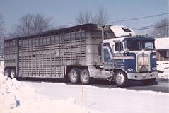 "KW K100, ""Shaler"" (PAcarhauler) Tags: kw kenworth coe cabover semi tractor trailer"