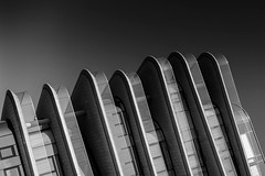 Bratislava (drasphotography) Tags: bratislava slovakia drasphotography travel travelphotography reisefotografie reise architecture architektur monochrome monochromatic monotone abstract abstrakt bianconero blackandwhite schwarzweis bw modern contemporary urban cityscape geometric geometry lines presburg