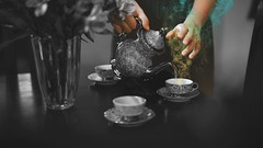 310/365 Maybe it exists in the intangible (Katrina Y) Tags: blackandwhite smoke color hands selfportrait surreal surrealphotography surrealism artsy art mood artistic tea teacup conceptual creative concept cinematic 2017 manipulation photoshop 365project