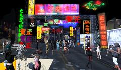 BlueOrangeTokyo4 (grady.echegaray) Tags: tokyo neon japan worldmusic blueorangeclub bohemianclub slstyle slfashion secondlife avatar danceparty dancing