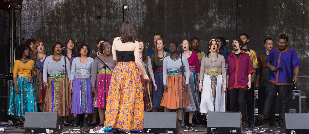 Discovery Gospel Choir At Africa Day 2017 In Dublin [Ireland Leading Multicultural Choir]-128827