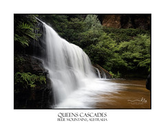 Waterfall (sugarbellaleah) Tags: waterfall flowing beautiful sounds water cascading mountains bluemountains motion wentworthfalls trees lush tranquil serenity wellbeing freshair australia nature wet exhilarating