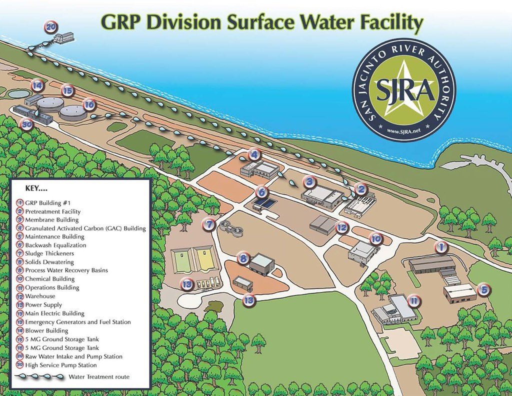 SJRA - GRP Division Surface Water Treatment Plant