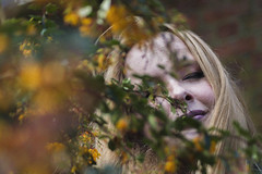 01 (sofiawanderesswithacamera) Tags: flowers spring girl happiness nature warmth retro