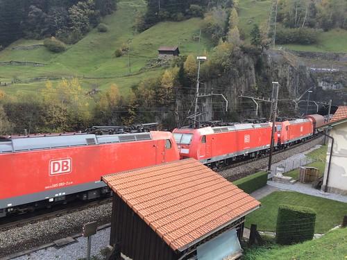 DB Cargo Vierfachtraktion Gotthard-Nordrampe