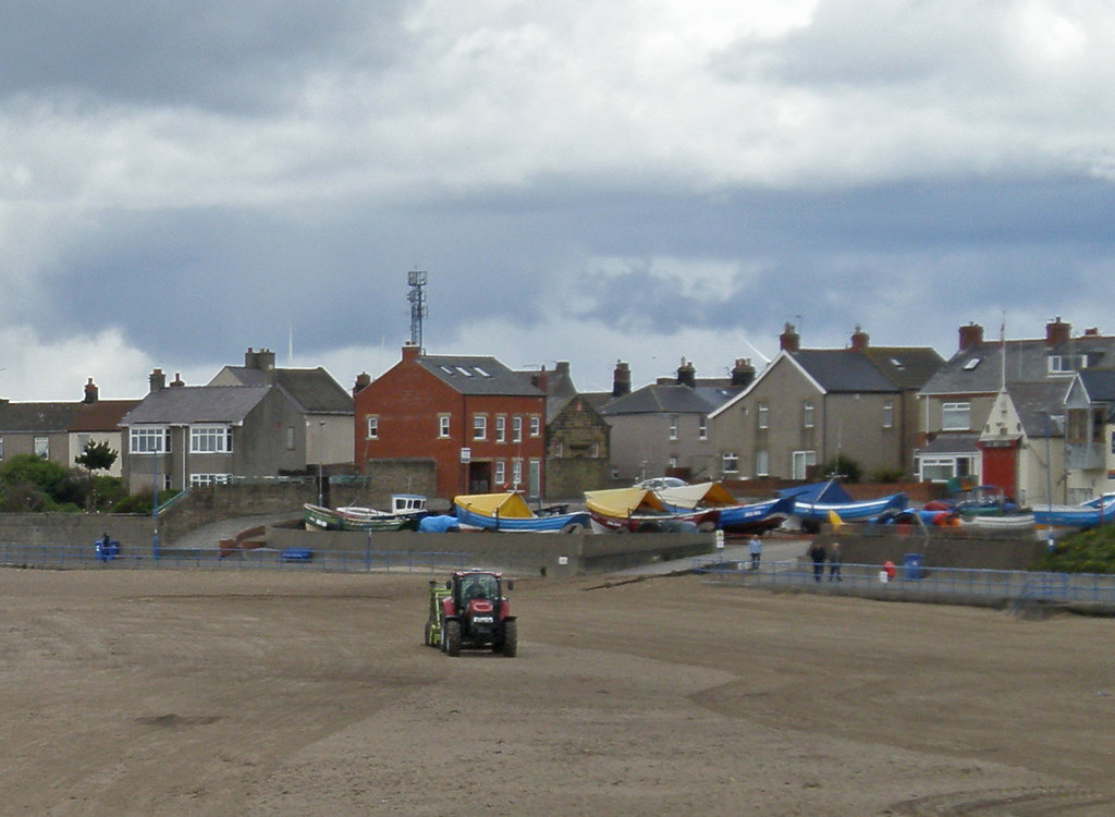 Northumberland Cobles. Newbiggin-by-the-Sea
