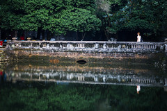 (desomnis) Tags: vietnam asia reflection water green nature bridge traveling travel hue historic centralvietnam waterreflection travelphotography desomnis 135mm canon135mmf20 canon6d canoneos6d 6d southeastasia