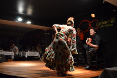 DSC_0785 (rusesmeralda) Tags: flamenco madrid spain dancing dance baile bailaor bailaora authentic tradition