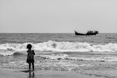 ~~ Life wherever However it is ~~ (NahidHasan95) Tags: life lifestyle light sea ocean boat perception bw