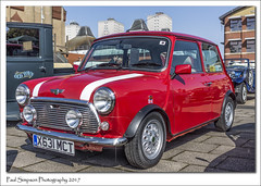 Classic Red Mini (Paul Simpson Photography) Tags: mini scunthorpe carshow classiccar transport imagesof imageof photoof photosof paulsimpsonphotography april2017 vintage cars british redmini x631mct