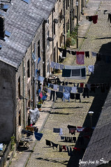 washing (Images from the Shire) Tags: todmorden washing line backstreet terraced houses