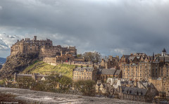 Edinburgh Castle (Michael Leek Photography) Tags: castle edinburgh edinburghcastle hdr architecture scottisharchitecture iconicbuilding historicscotland scotlandshistory capitalcity caoital city town scotland scottishlandscapes scotlandslandscapes michaelleek michaelleekphotography highdynamicrange