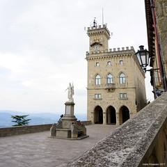 San Marino (Ineke Klaassen) Tags: sony sanmarino 6000 alpha sonyilce6000 europe europa sonyalphateam basilicadisanmarino square basilica ilce enclave view sonyalpha6000 15faves 1025fav mirrorless 20faves 1000views guaita