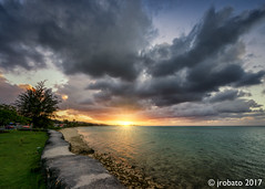 A Day Gone By (orgazmo) Tags: guam landscapes sky skyscapes clouds cloudscapes cloudformations sun sunsets sundown eastagana easthagatna aganabay coastlines ocean outdoors sonyalpha a77ii dslta77ii slta77ii sigma 816mmf4556dchsm