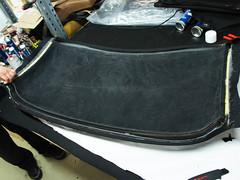 TVR Tamora Convertible Top (ck-cabrio_creativelabs) Tags: tvr tamora roadster convertible ckcabrio assembly trimshop softtop cabriolet