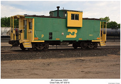 BN Caboose 10521 (Robert W. Thomson) Tags: bn burlingtonnorthern caboose cab cabcar cabincar hack train trains traincar rollingstock railorad railway greatfalls montana