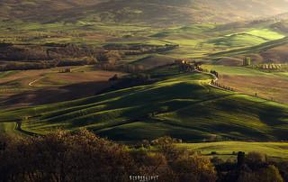 Valley view Pienza